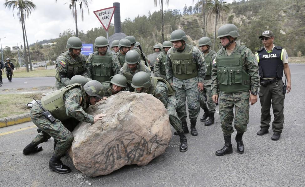 Proteste in Ecuador - Ausnahmezustand
