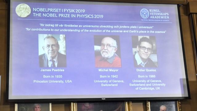 Physik-Nobelpreis für Erforscher des Kosmos