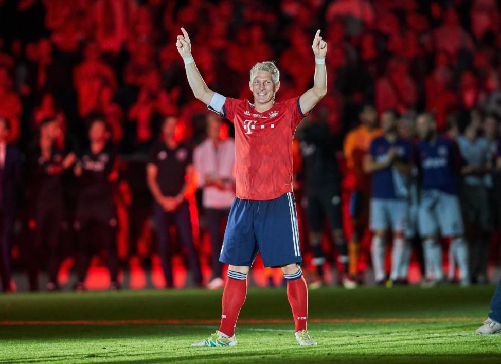 FC Bayern Munich Chicago Fire Soccer Munich August 28 2018 Bastian SCHWEINSTEIGER FCB 31 cele