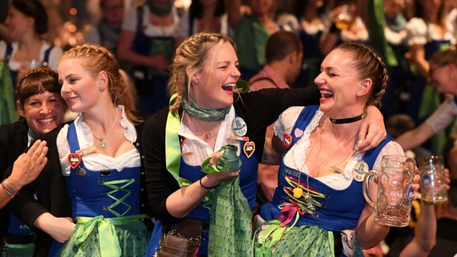 Oktoberfest 2019 Kehraus im Hofbräu-Zelt