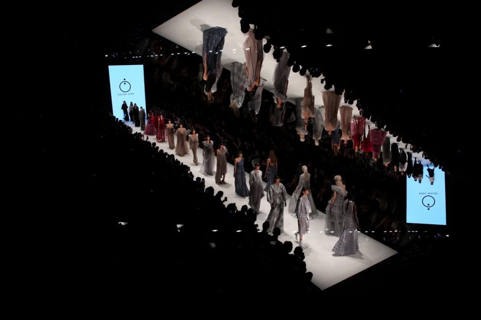 BESTPIX - Ozlem Suer - Runway - Mercedes-Benz Fashion Week Istanbul - October 2019