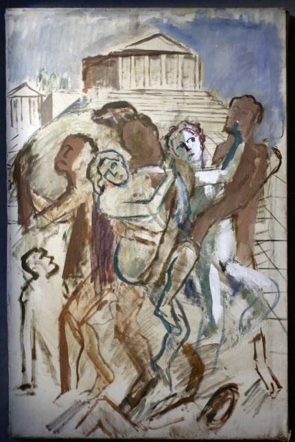 Unbekannte Studien des Malers Heinz Rose