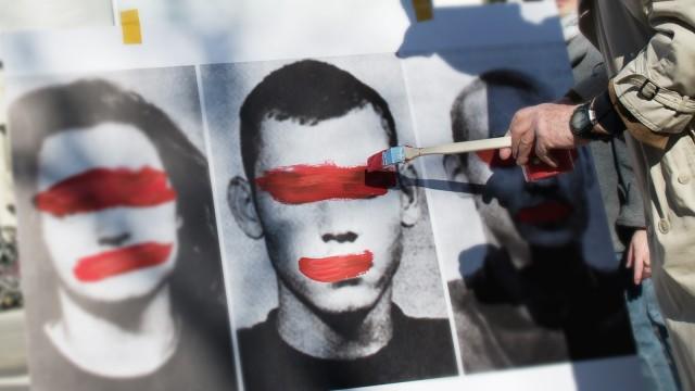 Rechtsextremismus: Demonstration gegen den Verfassungsschutz 2014 in München
