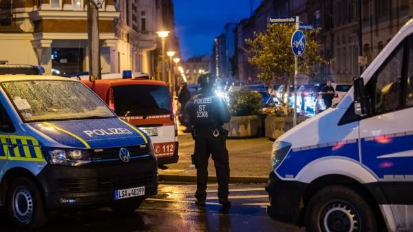 Halle an der Saale: Polizeieinsatz nach einem Anschlag auf eine Synagoge