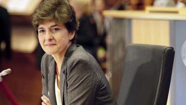 EU-Kommission: Sylvie Goulard bei einer Anhörung im Europäischen Parlament