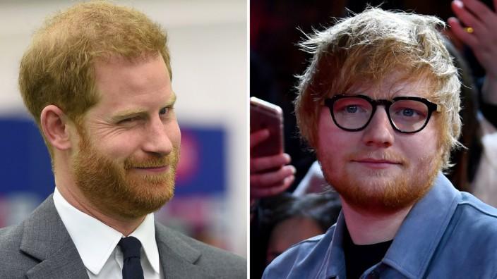 Prinz Harry veröffentlicht Videoclip mit Ed Sheeran