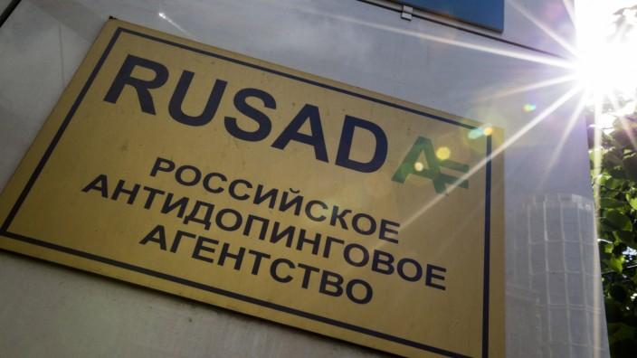 Manipulationsvorwurf: Russland soll WADA in dreiWochen antworten