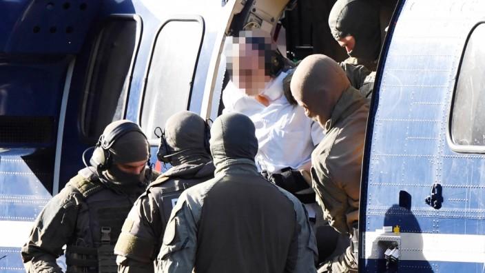 Haftprüfung - Tatverdächtiger von Halle
