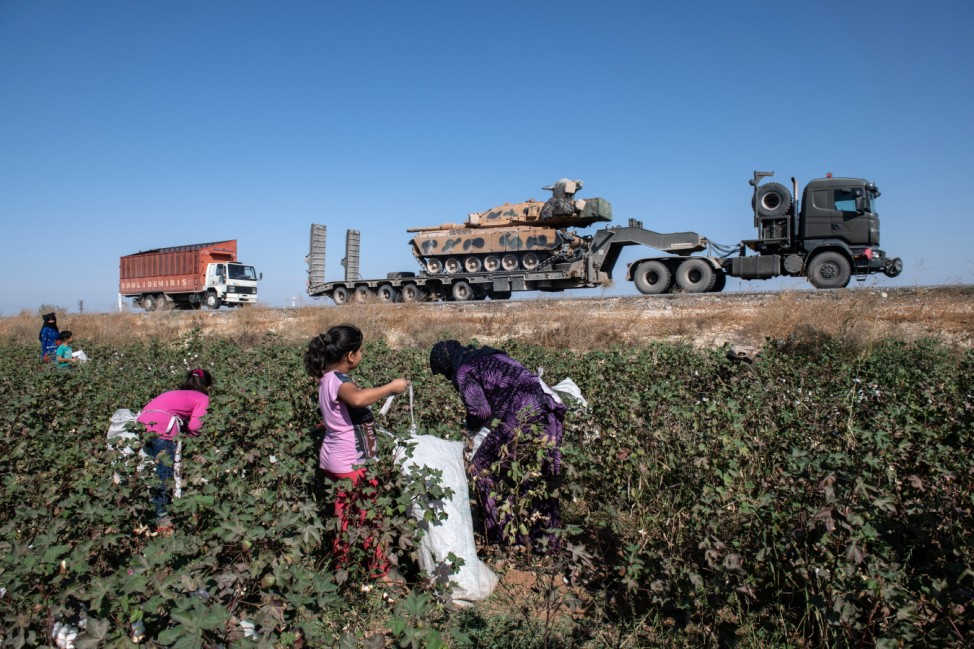 Turkey Steps Up Campaign In Northern Syria