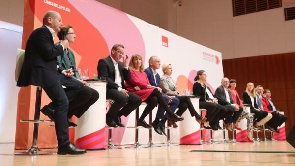 SPD-Regionalkonferenz in Duisburg