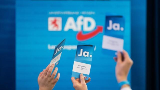 Parteitag AfD Hessen mit Wahlen des Landesvorstands