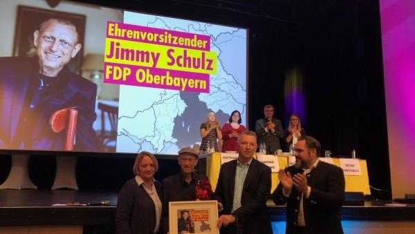 Jimmy Schulz wird Ehrenvorsitzender der FDP Oberbayern