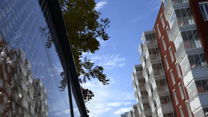 Die Immobilie auf dem ehemaligen Paulaner-Gelände in der Au. Die Mietpreise gehen hier an die 30 Euro pro Quadratmeter.
