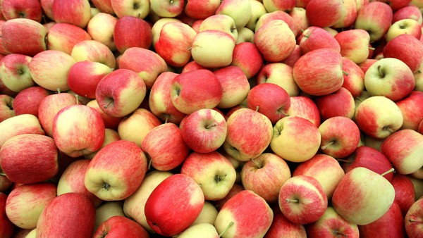 Weniger Äpfel
