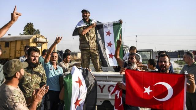 Militäroffensive der Türkei in Syrien