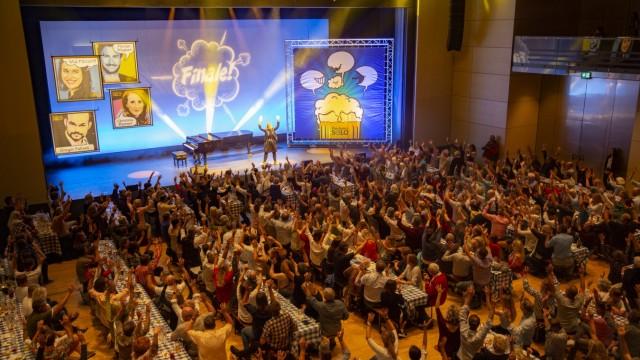Finale Kabarettwettbewerb Paulaner Solo, Stadtsaal Veranstaltungsforum Fürstenfeld