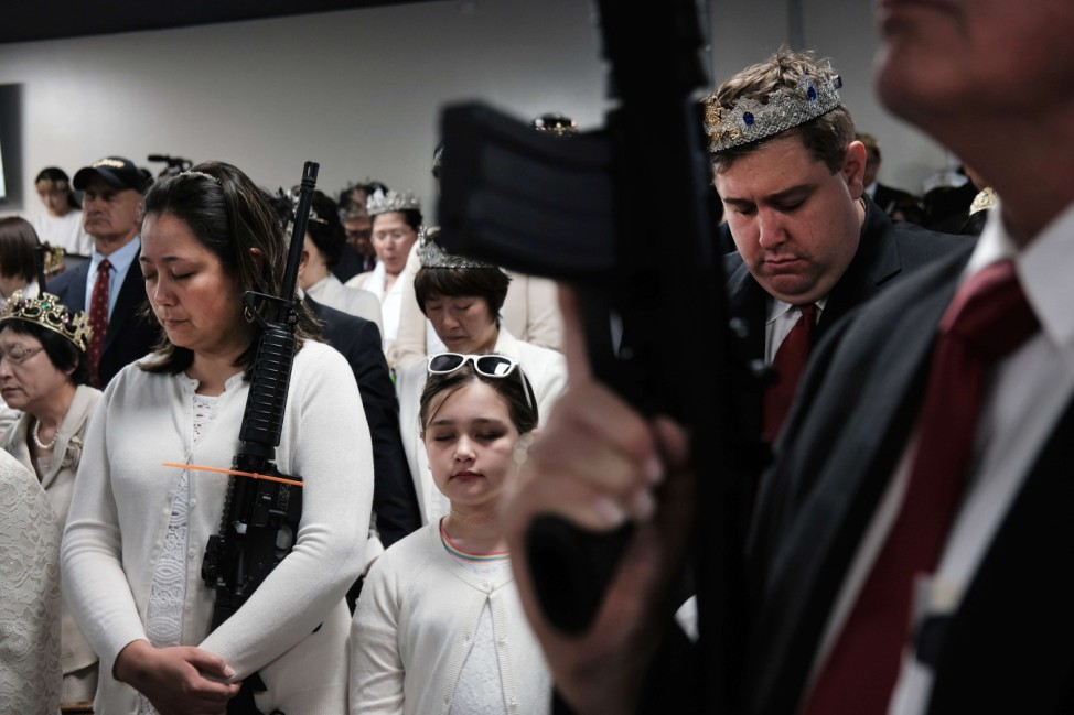 Second Amendment Supporters Hold Annual Blessing Of The AR-15 In Pennsylvania