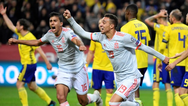 Euro 2020 Qualifier - Group F - Sweden v Spain