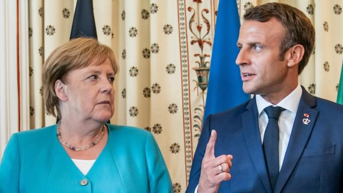 Merkel und Macron treffen sich am Airbus-Standort Toulouse