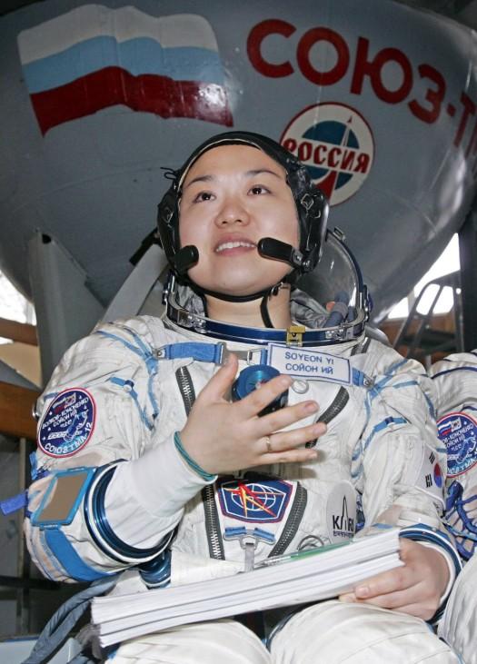 Südkoreanische Astronautin vor erstem Weltraumflug mit Sojus-Kapsel