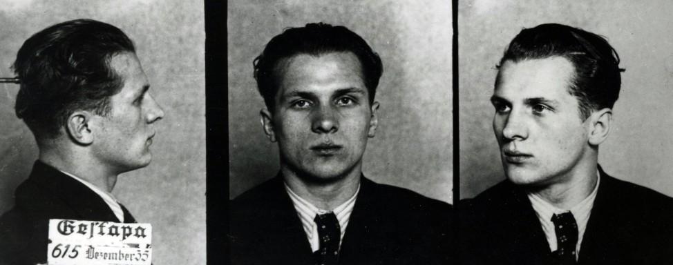"""Erich Honecker as a prisoner between 1935 and 1945 Honnecker 1912 âÄ"""" 1994 was a German communist"""
