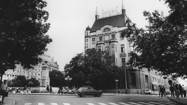 Hotel 'Moskva' in Belgrad, 1984