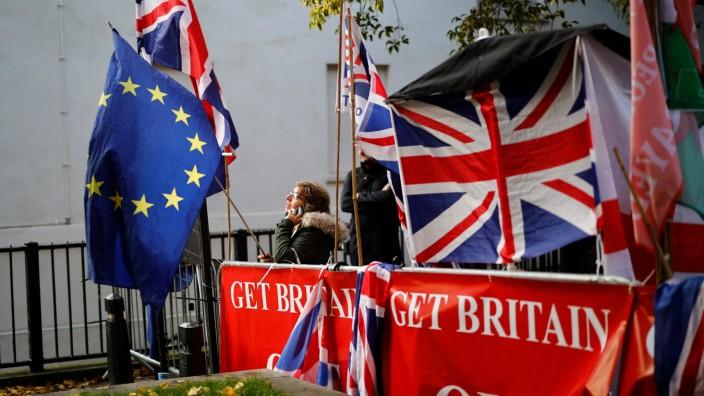 EU-Austritt: Demonstranten in London