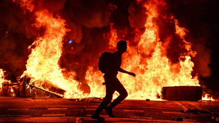 ***BESTPIX*** Catalan Protesters Call General Strike Over Jailing Of Separatists