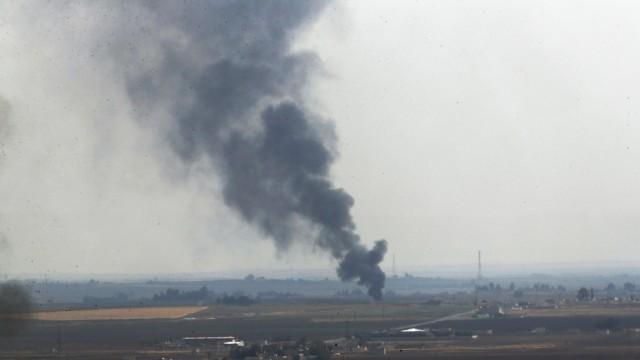 Militärischer Konflikt in Nordsyrien