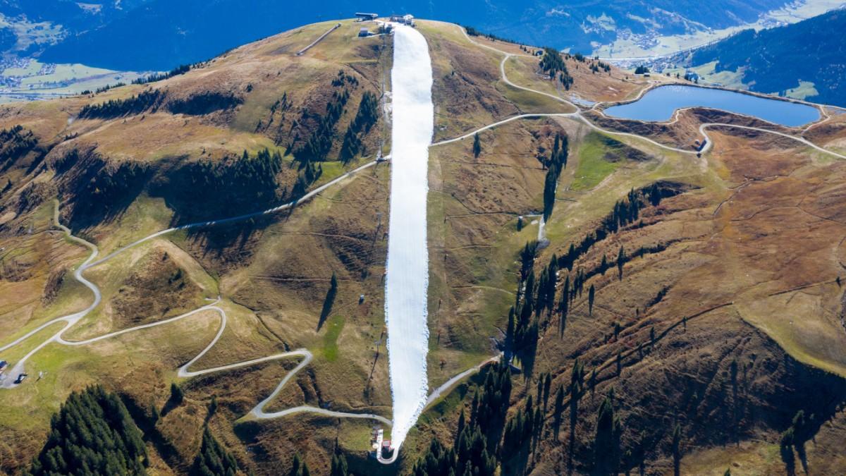 Skisaison in Kitzbühel startet bei 20 Grad