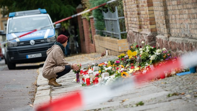 Day Two After Halle Shootings