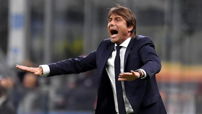 Inter Mailand: Trainer Antonio Conte bei einem Serie-A-Spiel