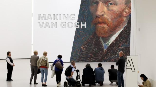 21.10.2019, Frankfurt, DEU, Making Van Gogh , Eine Ausstellung ueber die Bedeutung VIncent van Gogh in der Moderne im S