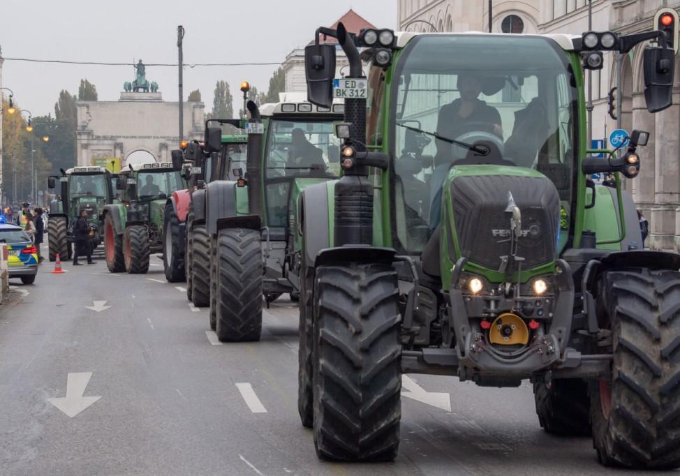 Bauernprotest - Bayern