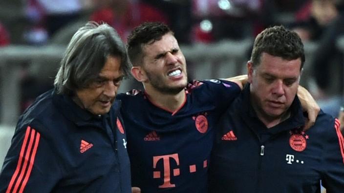FC Bayern: Lucas Hernandez verletzt sich beim CL-Spiel gegen Olympiakos Piräus