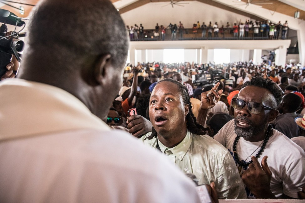 Catholics in Haiti demand president step down