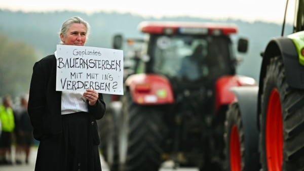 Bauernprotest in Bayern