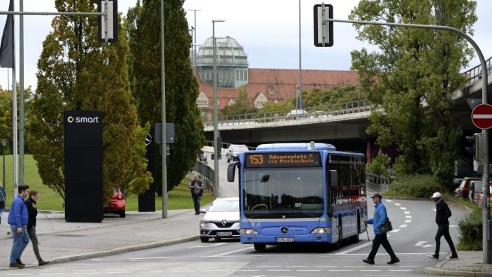 Der Münchner Stadtrat stimmte für den Ausbau von Busspuren.