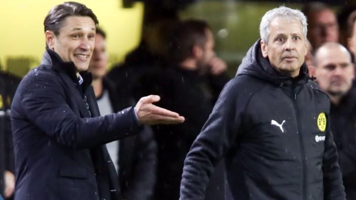 Borussia Dortmund v FC Bayern Muenchen - Bundesliga; Kovac Favre