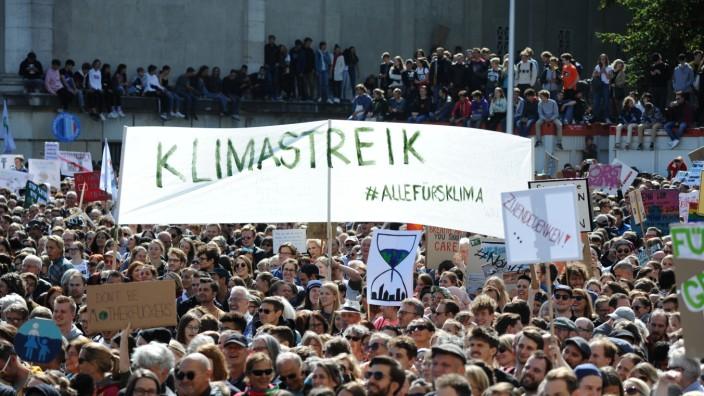 Klimaprotesttag in München, 2019