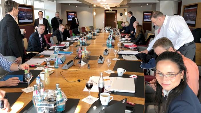 Koalitionsverhandlungen Brandenburg
