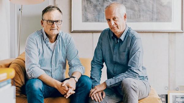 Frank Plasberg und Jürgen Schulte