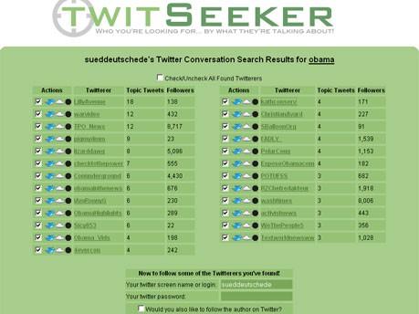 Twitseeker