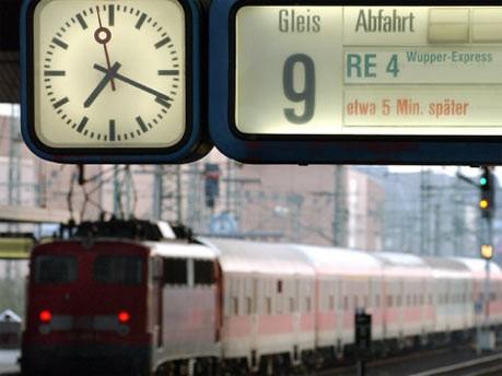 Hauptbahnhof Düsseldorf; dpa