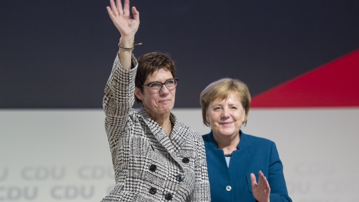 CDU Holds Federal Party Congress To Elect Successor To Angela Merkel