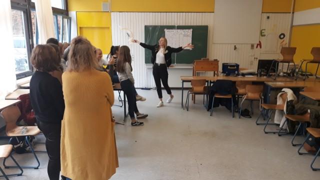 Workshop an der Realschule Geretsried