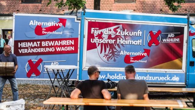 AfD Wahlplakate Brandenburg