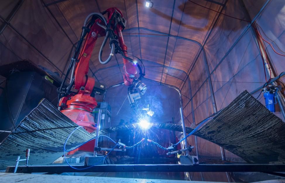 Forscher drucken erstmals 3D-Brücke aus Stahl