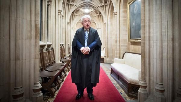 John Bercow verlässt Parlament