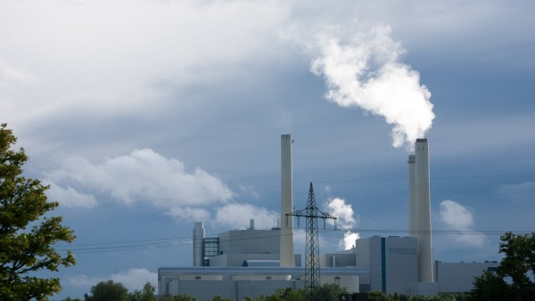 Heizkraftwerk München Nord in Unterföhring, 2014